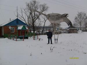 Журавль-мутант из Липецкой области